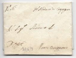 PERIODO NAPOLEONICO - DA CARPEGNA A MONTE CERIGNONE - 11.6.1809. - Italia