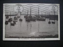 La Turballe.-Le Port Au Coucher Du Soleil 1938 - La Turballe
