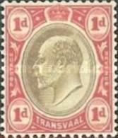 USED STAMPS SOUTH AFRICA - Transvaal - King Edward VII -1902 - Afrique Du Sud (1961-...)