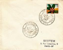 Wallis Et Futuna  Flore D' Outre-Mer  MATA UTU  4 Août 1958  FDC - Covers & Documents