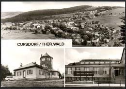 C1949 - Cursdorf Gaststätte Aussichtsturm FDGB Heim Cursdorfer Höhe - Bild Und Heimat Reichenbach - Neuhaus
