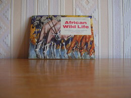 Album Chromos Images Vignettes Brooke Bond *** African Wild Life *** - Albums & Catalogues