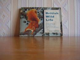 Album Chromos Images Vignettes Brooke Bond *** British Wild Life  *** - Album & Cataloghi