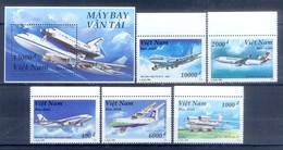C78- Vietnam 1996 Boeing Space Shuttle Avions Airplane Aircraft Airbus. - Vietnam