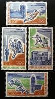 (dcos-374)  Mali   1972    Mi 316-19     Yv  PA 147-50        MNH - Sommer 1972: München