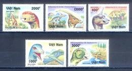 C80- Vietnam Viet Nam 1996 Dinosaur Prehistoric Animals. - Vietnam