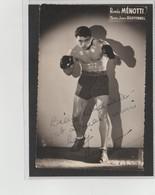 .BOXING.BOKSEN. PHOTO. Lansival   BOXEUR   ROMEO MENOTTI  Team Jean Bretonnel - Boxing