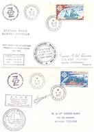 TAAF TERRE ADELIE  LOT DE 10 ENVELOPPES 1975 1976 1977 - Tierras Australes Y Antárticas Francesas (TAAF)
