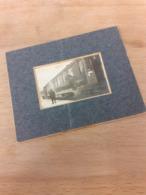 ZUR ERINNERUNG AN DEN 9. FEB. 1917 - ZWEI SCHAFFNER AM ZUG - Trenes