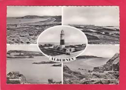 Modern Multi View Post Card Of Alderney,Channel Islands,P33. - Alderney