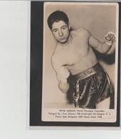 .BOXING.BOKSEN. PHOTO.   BOXEUR  PETER KEENAN  MAN. TOM GILMOUR  Signée Au Verso - Boxing