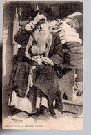 REF 463 : CPA GRECE GREECE GREC HELLAS SALONIQUE SALONICA : Marchand Israélite Judaica - Grecia