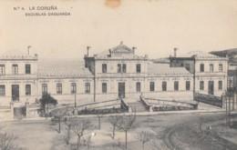 CPA - La Coruña - Escuelas Daguarda - La Coruña