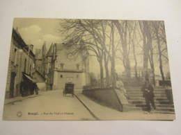Cpa BAUGE (49)  Rue Du Mail Et Château - France