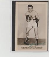 .BOXING.BOKSEN. PHOTO  .CPA.    BOXEUR  MICKEY  LAURENT  Team J. Bretonnel    Signée - Boxing