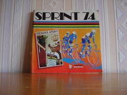 Album Chromos Images Vignettes Panini *** Sprint 74 *** - Album & Cataloghi