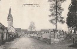 DOMALAIN La Rue Du Cimetiere Et L Eglise - Other Municipalities