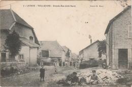 LAVANS-VUILLAFANS  25  DOUBS  BELLE CPA     GRANDE RUE  COTE NORD - Autres Communes