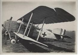 RARE - WWI - Aviation Militaire - Photo Originale Annotée - Avion Sanitaire Français - Aviation
