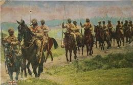 Militair // Guerre - War Caveliers Indiens - Indian Cavalry 19?? Corner Damage - Autres