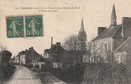 DOMALAIN La Route La  De Saint Germain Du Pinel - Other Municipalities