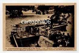 - CPA L'ILE BARBE (Lyon / 69) - L'Embarcadère Des ABEILLES 1939 (belle Animation) - Edition Cellard N° 8 - - Lyon