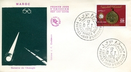 "Maroc ; FDC 1976; TP N°776 "" Semaine De L'aveugle ""Morocco,Marruecos - Maroc (1956-...)"