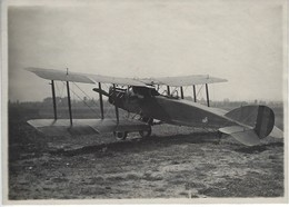 RARE - WWI - Aviation Militaire - Photo Originale Annotée - BRISTOL Avion Reconnaissance Anglais - Aviation