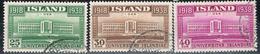 Island 200/202 Gestempelt - Universität Reykjavik 1938 - 1918-1944 Administration Autonome