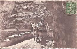 GORGES SUPERIEURES DU CIANS (06) Route Des ALPES Entre Nice Et Barcelonnette En 1922 (Beau Plan D'Attelage) - Francia