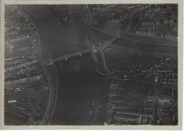 RARE - WWI - Aviation Militaire - 2 Photos Originales Annotées - Vue Panoramique Liège - Aviazione