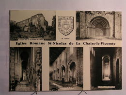 La Chaize Le Vicomte - L'Eglise Romane - La Chaize Le Vicomte