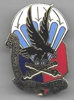 35e Régiment Artillerie Parachutiste - 2e Batterie - Insigne émaillé Ségalen ( 1989 ) - Hueste