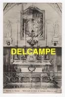 DD / 21 CÔTE D' OR / RECEY-SUR-OURCE / DANS L' ÉGLISE LE MAÎTRE-AUTEL PROVENANT DE L' ANCIENNE ABBAYE DE LUGNY / 1911 - Autres Communes
