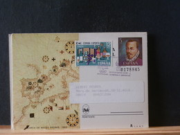 85/616  CP ESPAGNE VERSO PIQUAGE PRIVE - Stamped Stationery