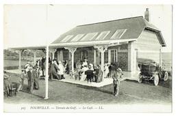 CPA - 76 - POURVILLE - Golf De Dieppe - Café - Vérandah Du Restaurant - Dieppe