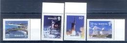 C105- Bermuda 1999 30th Anniversary Of 1st Man On The Moon. Space. - Raumfahrt