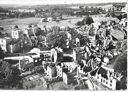 00/01   Cpsm    87  Un Avion Au Dessus De..  Ruines D'oradour Sur Glane - Oradour Sur Glane