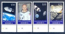 C109- Jamaica 1999. 30th Anniversary Of 1st Man On The Moon. Space. - Raumfahrt