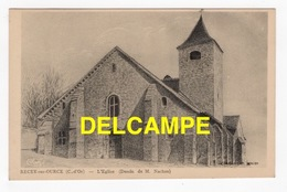 DD / 21 CÔTE D' OR / RECEY-SUR-OURCE / L' ÉGLISE / DESSIN DE M. NACHON / 1949 - Autres Communes