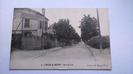 Carte Postale ( BB6 ) Ancienne De Croix De Berny , Rue Du Sud - France
