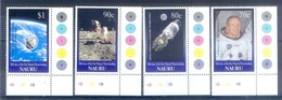 C114- Nauru 1999 Kiribati 1999 30th Anniversary Of 1st Man On The Moon. Space. - Space
