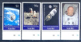 C114A- Nauru 1999 Kiribati 1999 30th Anniversary Of 1st Man On The Moon. Space. - Space