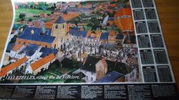 Ellezelles , Villmagz élu Du Folklore - Calendrier 1981 - Obj. 'Souvenir De'