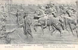 55-VAUCOULEURS VIE DE JEANNE D ARC 3-N°T2589-E/0269 - Altri Comuni