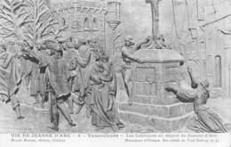 55-VAUCOULEURS VIE DE JEANNE D ARC 4-N°T2589-E/0281 - Altri Comuni