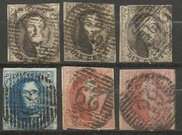 Belgique - Médaillons - Oblitérations P29 COURTRAI - Postmarks - Lines: Perceptions