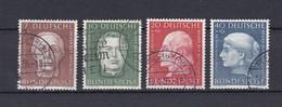 BRD - 1954 - Michel Nr. 200/203 - Gest. - 55 Euro - [7] République Fédérale