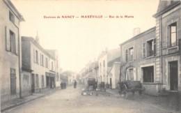 MEURTHE ET MOSELLE  54  MAXEVILLE - RUE DE LA MAIRIE - Maxeville