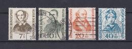 BRD - 1955 - Michel Nr. 222/225 - Gest. - 45 Euro - Gebraucht